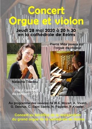Concert orgue et violon