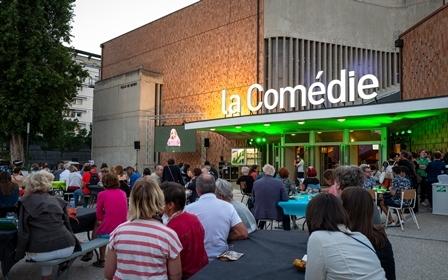 Visite guidée à  La Comédie, centre dramatique national de Reims