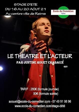 Théâtre et jeu de l'acteur
