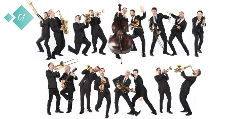 Concert d'ouverture - The Amazing Keystone Big Band