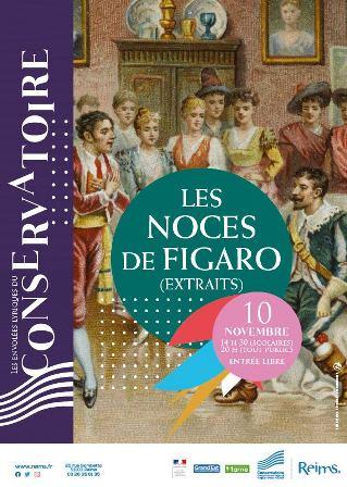 Les Noces de Figaro (extraits)