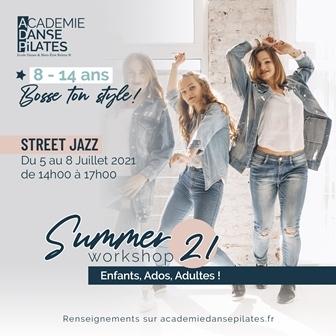 Stage danse street jazz