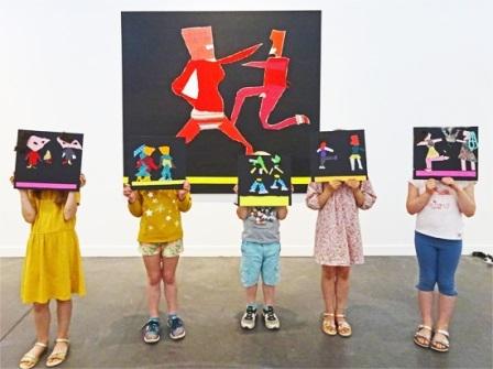 Ateliers de pratiques artistiques en lien avec l'exposition « Monts Analogues »