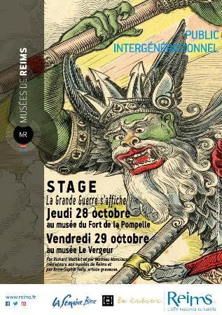 "Stage ""La grande guerre s'affiche"""