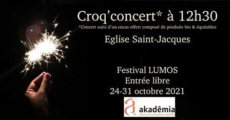 Croq' Concert* « Réveillez-vous, cœurs endormis » !