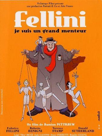 Federico Fellini : je suis un grand menteur